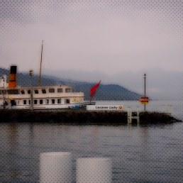 Lausanne. Le lac Léman (lake Geneva).